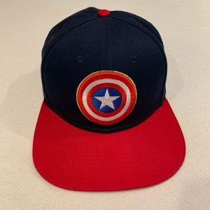 Captain America SnapBack hat Avengers Marvel